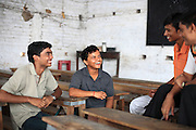 """INDIA's School for the Poor but Gifted<br /> <br /> """"If one is accepted to walk into this door; He will walk out with all the doors of the world probably thrown open to him"""".<br /> So remarked student Satish Kumar,18, casually pointing towards the tattered tin door of the Ramanujan School of mathematics located amidst the narrow muddy  water logged bylanes of Patna, Bihar. <br /> He continues,""""Me and many others like me are examples of this, in spite of being poor we now feel of being second to none.""""<br /> The reason for  Satish kumar's new found confidence is that he is one amongst the 30 of the poorest but talented students  in Bihar who had been selected to be a part of a batch known as the SUPER 30, and who after a complete year's hard work have now   passed the entrance test of the IIT JEE 2009 (Indian Institute of Technology's Joint Entrance Examination ) with flying colors. <br /> This  guarantees him a berth in one of the 15 IIT's spread across India, the topmost &  elitist Technology Colleges in India; the Indian equivalent of the Ivy league colleges. IITs are  the technological haven and boast of an alumni like Sabeer Bhatia, the inventor of Hotmail & N.R. Narayana Murthy founder of  Infosys and many others who are right now running the most prestigious blue chip companies around the world. It can lay claim of having  created some of the world's brightest tech wizards and engineering geniuses in recent times.<br /> <br /> With such credentials it is given that the IITs are notoriously selective in their admission procedure. About 384,977 students took their Joint Entrance Test (IIT-JEE) this year, hankering after 8,295 seats, indicating an admission rate of around two per cent, the most competitive in the world. (That at Princeton, Yale, and Harvard hovers around nine per cent).<br />   """"Our only hope of  entry into IIT and out of poverty was  the SUPER 30. It was our only talisman."""" Says another successful student  Nagendra Ram.<br /> <br /> Super-30  is"""