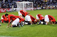 Fotball<br /> Brasil v Egypt<br /> Foto: DPPI/Digitalsport<br /> NORWAY ONLY<br /> <br /> FOOTBALL - CONFEDERATIONS NATIONS CUP 2009 - GROUP B - 1ST ROUND - BRAZIL v EGYPT - 15/06/2009 <br /> <br /> JOY EGYPT