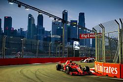 September 15, 2018 - Singapore, Singapore - Motorsports: FIA Formula One World Championship 2018, Grand Prix of Singapore, .#7 Kimi Raikkonen (FIN, Scuderia Ferrari) (Credit Image: © Hoch Zwei via ZUMA Wire)
