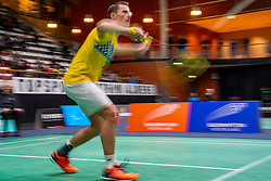 Mark Caljouw during the Dutch Championships Badminton on February 1, 2020 in Topsporthal Almere, Netherlands