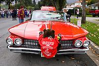 Save the South Hills Protest Car, Glendora Christmas Parade, California