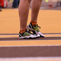 2018 Canada West Track & Field Championship on February  24 at James Daly Fieldhouse. Credit: Arthur Ward/Arthur Images