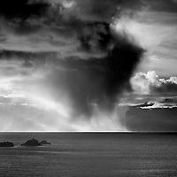 Irish Weather with Rain shower over Atlantic, Ring of Kerry, Ireland / wt035