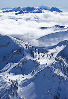 Looking South at Mount Timpanogos with Alta Ski Resort in the foreground