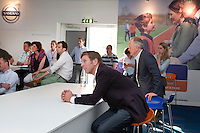 ROTTERDAM - Hockey- Simon Keizer van M&M.  van VOLVO CLUBBONUS MEETING tijdens de Hockey World League in Rotterdam. FOTO KOEN SUYK