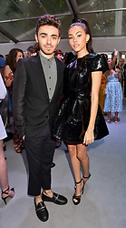 Nathan Sykes and Madison Beer at the Glamour Women of The Year Awards 2017 in association with Next held in Berkeley Square Gardens, London England. 6 June 2017.