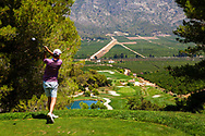 26-07-2016 Foto's persreis Golfers Magazine met Pin High naar Alicante en Valencia in Spanje. <br /> Foto: La Galiana - hole 15 El Mirador - Het uitkijkpunt.