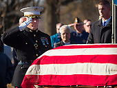 Interment of a World War II Marine