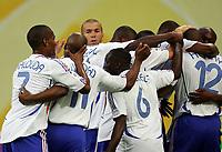 1:0 Jubel Frankreich Mitte Zinedine Zidane <br /> Fussball WM 2006 Frankreich - Suedkorea<br />  Frankrike - Sør-Korea<br /> Norway only