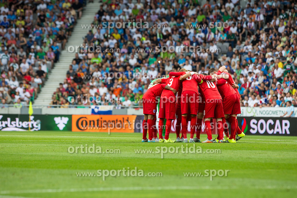 National team of England during the EURO 2016 Qualifier Group E match between Slovenia and England at SRC Stozice on June 14, 2015 in Ljubljana, Slovenia. Photo by Grega Valancic