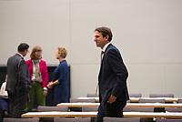 DEU, Deutschland, Germany, Berlin, 09.10.2018: Andreas Jung (MdB, CDU) vor Beginn der Fraktionssitzung der CDU/CSU. Jung ist Vorsitzender der Landesgruppe Baden-Württemberg und bewirbt sich um einen Posten als Vize-Vorsitzender der Unionsfraktion.