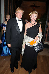 MR & MRS GUY HANDS he is the financier and the current CEO of the private equity firm Terra Firma Capital Partners at the Royal Academy of Art's Summer Ball held at Burlington House, Piccadilly, London on 16th June 2008.<br /><br />NON EXCLUSIVE - WORLD RIGHTS