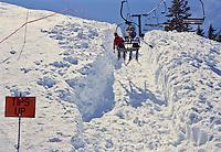Alpine Meadows Ski Lift Cut out