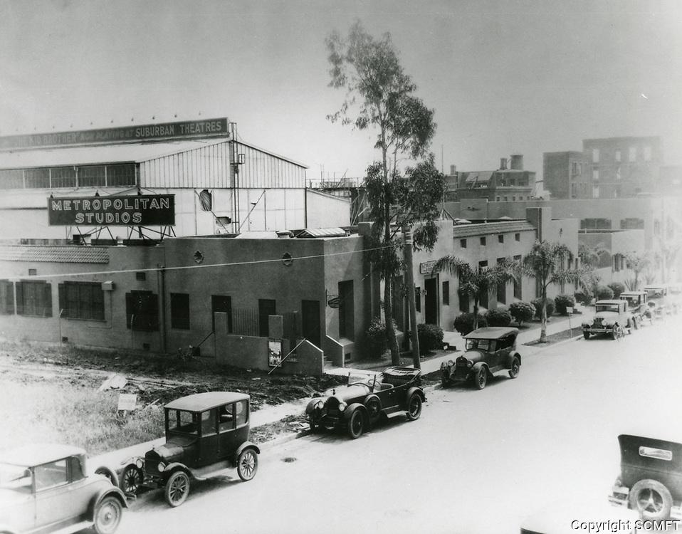 1927 Hollywood Studios, aka Metropolitan Studios, on Santa Monica Blvd.