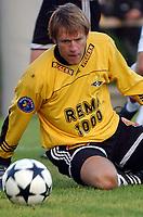 Fotball. 2. divisjon 23.08.2004 - Rosenborg 2 - Levanger 1-4, Bjørn Rune Stubbe, Levanger<br /><br />Foto: Carl-Erik Eriksson, Digitalsport
