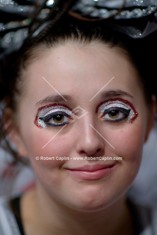 Jade Anderson, 16, of the Blaze Cheer Starz,  during the NCA/NDA U.S. Championship held at the Hammerstein Ballroom Sat. March 10, 2007. Rising popularity in the sport of cheerleading has brought a significant increase in cheerleading related accidents and injuries. .