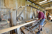 Taree. NSW. AUSTRALIA.<br /> <br /> Round and About - Croker Wooden Oars Factory.  NSW. Oar and Blade making Facility.<br /> <br /> Thursday  28/03/2013<br /> <br /> [Mandatory Credit; Peter Spurrier/Intersport-images]