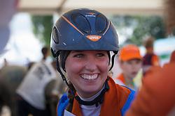 Marijke Visser, (NED)<br /> Endurance - Alltech FEI World Equestrian Games™ 2014 - Normandy, France.<br /> © Hippo Foto Team - Jantien Van Zon