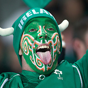 Fans of the IRB Rugby World Cup 2011