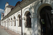 View of the carriage house at Vilnius Botanical Gardens