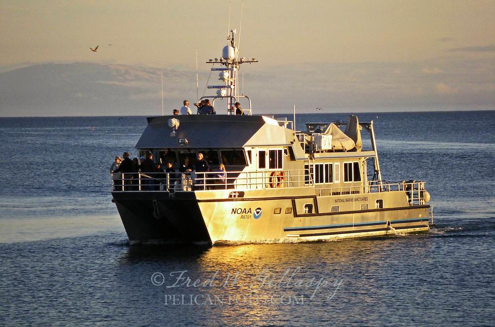 NOAA R6701 National Marine Sanctuaries Ship ~ 3134