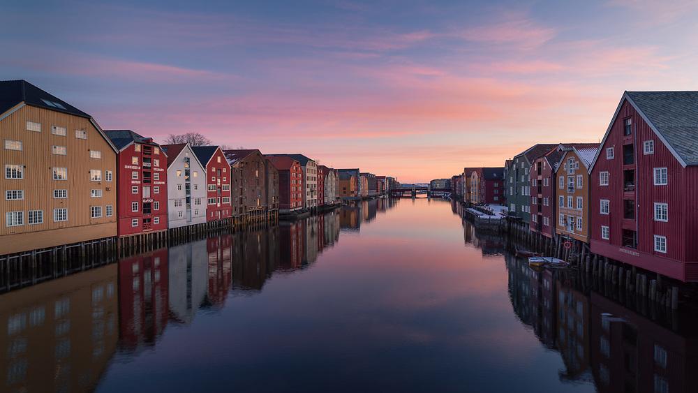 Trondheim, Norway. March 2020.
