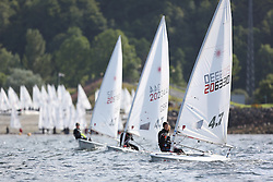 Day 4 NeilPryde Laser National Championships 2014 held at Largs Sailing Club, Scotland from the 10th-17th August.<br /> <br /> 206330 Jasmin SAYED<br /> <br /> Image Credit Marc Turner