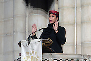 6 January 2010- New York NY- Attalah Shabazz at the Percy E. Sutton's Funeral held at The Riverside Church on January 6, 2010 in New York City. Photo Credit: Terrence Jennings/Sipa
