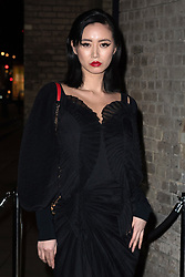 February 18, 2019 - London, New York, United Kingdom of Great Britain and Northern Ireland - Betty Bachz arriving at the Fabulous Fund Fair at The Roundhouse on February 18 2019 in London, England  (Credit Image: © Famous/Ace Pictures via ZUMA Press)