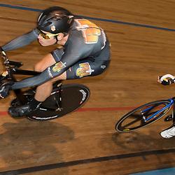 20-12-2015: Wielrennen: NK Baan: Alkmaar<br />ALKMAAR (NED) baanwielrennen  <br />Nick Stopler, Barry Markus