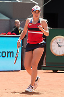Hungarian Timea Babos  during Mutua Madrid Open Sub16 Tennis 2017 at Caja Magica in Madrid, May 13, 2017. Spain.<br /> (ALTERPHOTOS/BorjaB.Hojas)