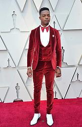 91st Annual Academy Awards - Arrivals. 24 Feb 2019 Pictured: Stephan James. Photo credit: Jaxon / MEGA TheMegaAgency.com +1 888 505 6342