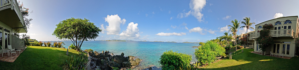 Gallows Point Luxury Resort on St. John, US Virgin Islands.