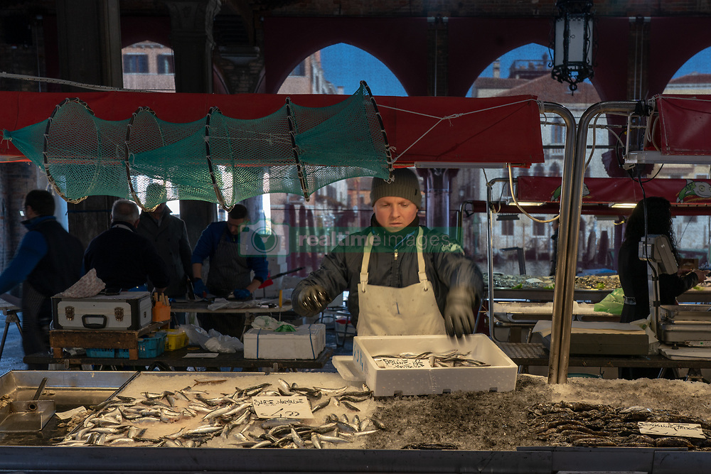 General views of a market in Venice. From a series of travel photos in Italy. Photo date: Tuesday, February 12, 2019. Photo credit should read: Richard Gray/EMPICS
