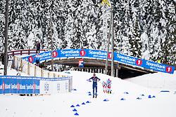 January 11, 2018 - GSbu, NORWAY - 180111 Johannes HÂ¿sflot Kl¾bo competes in the men's sprint classic technique final during the Norwegian Championship on January 11, 2018 in GÅ'sbu..Photo: Jon Olav Nesvold / BILDBYRN / kod JE / 160127 (Credit Image: © Jon Olav Nesvold/Bildbyran via ZUMA Wire)