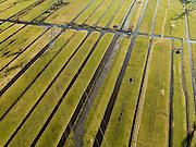 Nederland, Zuid-Holland, Lekkerkerk, 20-02-2012; Polder Schuwacht met hoogspanningsmasten..Polder and high tension cables..luchtfoto (toeslag), aerial photo (additional fee required).copyright foto/photo Siebe Swart