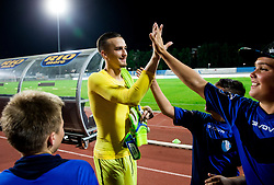 Grega Sorcan of Gorica celebrates after the 2nd Leg football match between ND Gorica and FC Shirak in 1st Qualifying Round of UEFA Europa League 2017/18, on July 6, 2017 in Nova Gorica, Slovenia. Photo by Vid Ponikvar / Sportida