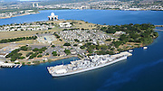USS Missouri and USS Arizona, Pearl Harbor, Oahu, Hawaii