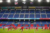 Rugby Union - 2019 Rugby World Cup - Wales Training Captain's Run pre-Semi-Final <br /> <br /> Welsh team training at International Stadium Yokohama, Kanagawa Prefecture, Yokohama City.<br /> <br /> COLORSPORT/LYNNE CAMERON
