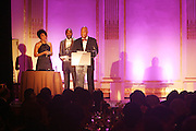 l to r: Renee Slyer, Reggie Van Lee at The Fifth Annual Grace in Winter Gala honoring Susan Taylor, Kephra Burns, Noel Hankin and Moet Hennessey USA and benfiting The Evidence Dance Company held at The Plaza Hotel on February 3, 2009 in New York City.