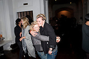 ALISON GOLDFRAPP; LISA GUNNING, KM3D-1 Film screening made by Baillie Walsh of Kate Moss. Hosted by another magazine. Hanuch of Venison. London. 16 Septemebr 2010.  -DO NOT ARCHIVE-© Copyright Photograph by Dafydd Jones. 248 Clapham Rd. London SW9 0PZ. Tel 0207 820 0771. www.dafjones.com.