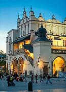 Sukiennice na Rynku Głównym w Krakowie, Polska<br /> Cloth Hall on the Market Square in Cracow, Poland