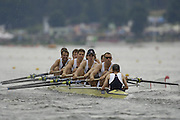 Poznan, POLAND.  2006, FISA, Rowing, World Cup, GBR M8+Jonno  DEVLIN, Tom STALLARD, Matt LANGRIDGE,  Tom SOLESBURY,  Josh WEST,  Hugo LEE,  Toby Garbutt,  Kieran WESt, cox Acer  NETHERCOTT, move  away from  the  start, on the Malta  Lake. Regatta Course, Poznan, Thurs. 15.05.2006. © Peter Spurrier   ...[Mandatory Credit Peter Spurrier/ Intersport Images] Rowing Course:Malta Rowing Course, Poznan, POLAND