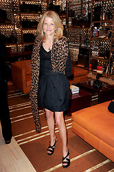 KATHERINE FRANCEY at a party to celebrate the opening of the Louis Vuitton Bond Street Maison, New Bond Street, London on 25th May 2010.