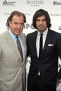 14 June 2010- Harlem, New York- l to r: Mark Cornell and Nacho Figueras at The Apollo Theater's 2010 Spring Benefit and Awards Ceremony hosted by Jamie Foxx inducting Aretha Frankilin and Michael Jackson, and honoring Jennifer Lopez and Marc Anthony co- sponsored by Moet et Chandon which was held at the Apollo Theater on June 14, 2010 in Harlem, NYC. Photo Credit: Terrence Jennngs/Sipa