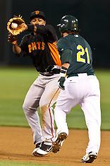 20110329 - San Francisco Giants at Oakland Athletics (MLB Baseball)