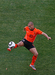 14-06-2010 VOETBAL: FIFA WORLDCUP 2010 NEDERLAND - DENEMARKEN: JOHANNESBURG<br /> Wesley Sneijder <br /> ©2010-FRH- NPH/  Mark Atkins (Netherlands only)