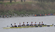 Putney. London, Molesey 1. at the start of the 2015  Head of the River Race. Championship Course Putney to Mortlake.  ENGLAND. <br /> <br /> Sunday   29/03/2015<br /> <br /> [Mandatory Credit; Intersport-images] .   Empacher.
