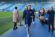 Sheffield Wednesday forward Gary Hooper (14) arrives before the EFL Sky Bet Championship match between Sheffield Wednesday and Sheffield Utd at Hillsborough, Sheffield, England on 24 September 2017. Photo by Phil Duncan.