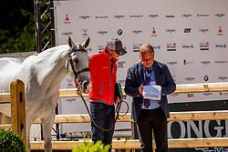 Fuchs Martin, SUI, Clooney 51<br /> European Championship Jumpîng<br /> Rotterdam 2019<br /> © Hippo Foto - Dirk Caremans<br /> Fuchs Martin, SUI, Clooney 51